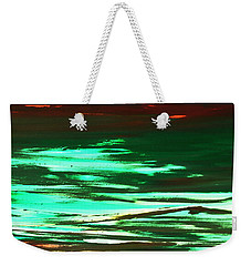 Back To Canvas The Landscape Of The Acid People Weekender Tote Bag