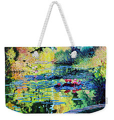 Back To The Garden Weekender Tote Bag