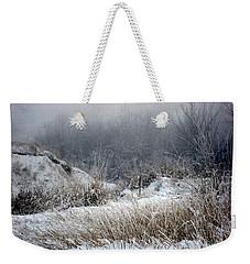 Back Woods Winter Weekender Tote Bag