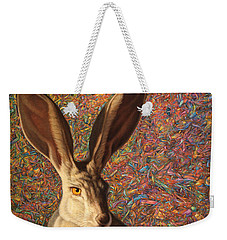 Background Noise Weekender Tote Bag by James W Johnson