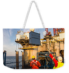 Backloading Equipment Weekender Tote Bag