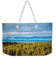 Backroad Ocean View Weekender Tote Bag