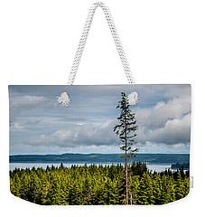 Logging Road Ocean View  Weekender Tote Bag