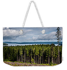 Logging Road Landscape Weekender Tote Bag