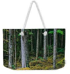 Inside View Backroad Forest Weekender Tote Bag