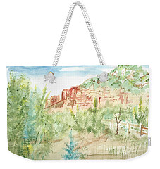 Backyard Sedona Weekender Tote Bag