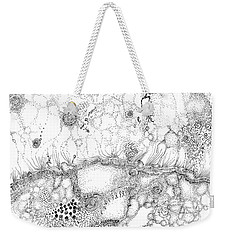 Bacteriophage Ballet Weekender Tote Bag by Regina Valluzzi