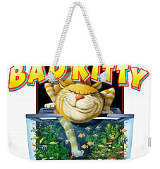 Bad Kitty Weekender Tote Bag