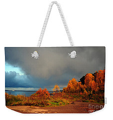 Bad Weather Coming Weekender Tote Bag by Randi Grace Nilsberg