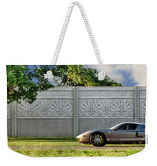 Badass Petunia Weekender Tote Bag by Sennie Pierson