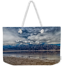 Badwater Reflection Weekender Tote Bag
