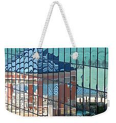 Bahamas Beach Pavilion Weekender Tote Bag