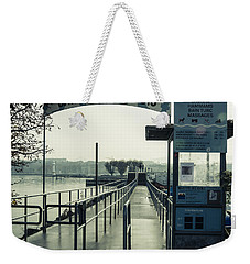 Weekender Tote Bag featuring the photograph Bains Des Paquis by Muhie Kanawati