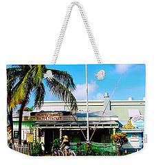 Bait And Tackle Key West Weekender Tote Bag
