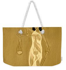 Balance 3 Weekender Tote Bag by Lorna Maza