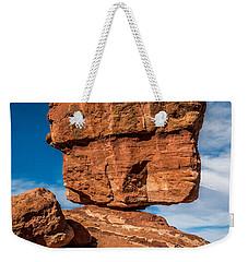 Balanced Rock Garden Of The Gods Weekender Tote Bag by Paul Freidlund