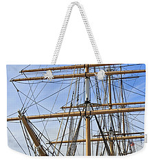 Weekender Tote Bag featuring the photograph Balclutha by Kate Brown