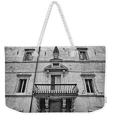 Balcony In Assisi Weekender Tote Bag