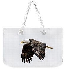 Bald Eagle 3 Weekender Tote Bag