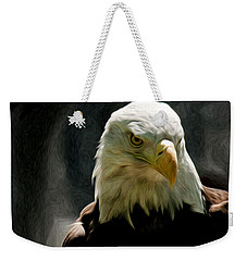 Bald Eagle Giving You That Eye Weekender Tote Bag