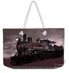 Baldwin 4-6-0 Steam Locomotive Weekender Tote Bag