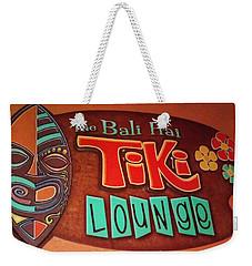 Bali Hai Tiki Lounge Pontchartrain Beach Weekender Tote Bag by Deborah Lacoste