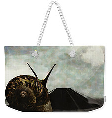 Weekender Tote Bag featuring the digital art Ballad by Galen Valle