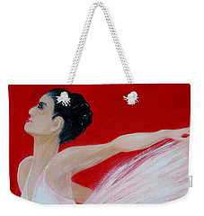 Ballerina.  Grace. Inspirations Collection Weekender Tote Bag
