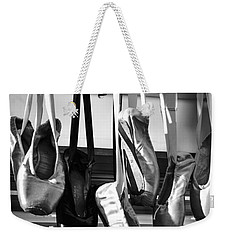 Ballet At The Bar Weekender Tote Bag