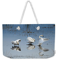Dance Of The Trumpeters Weekender Tote Bag