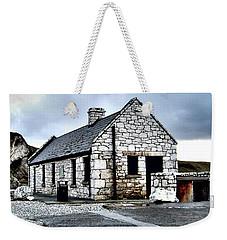 Ballintoy Stone House Weekender Tote Bag by Nina Ficur Feenan
