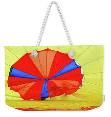 Weekender Tote Bag featuring the photograph Balloon Fantasy   1 by Allen Beatty