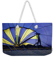 Weekender Tote Bag featuring the photograph Balloon Fantasy 4 by Allen Beatty