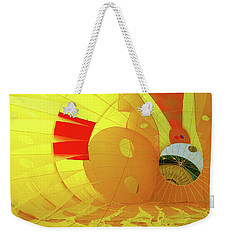 Weekender Tote Bag featuring the photograph Balloon Fantasy 6 by Allen Beatty