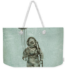 Balloon Fish Weekender Tote Bag