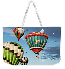 Balloons Away Weekender Tote Bag by Dave Files