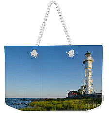 Baltic Sea Lighthouse Weekender Tote Bag