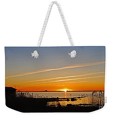 Baltic Sea Sunset Weekender Tote Bag