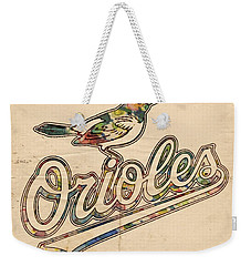 Baltimore Orioles Stylish Logo Weekender Tote Bag