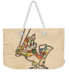 Baltimore Orioles Vintage Logo Weekender Tote Bag