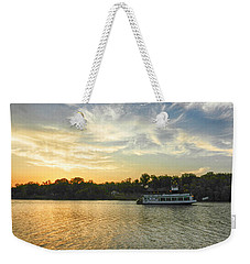 Weekender Tote Bag featuring the photograph Bama Belle Sunset by Ben Shields