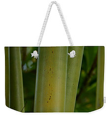 Weekender Tote Bag featuring the photograph Bamboo II by Robert Meanor