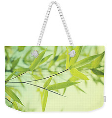 Bamboo In The Sun Weekender Tote Bag by Priska Wettstein