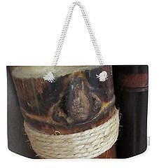 Bamboo Node On Rain Stick Weekender Tote Bag