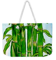 Bamboo On The Rocks Weekender Tote Bag