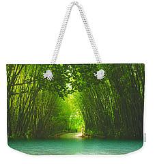 bamboo path to  Blue Lagoon  Weekender Tote Bag