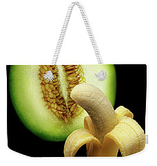 Banana And Honeydew Weekender Tote Bag