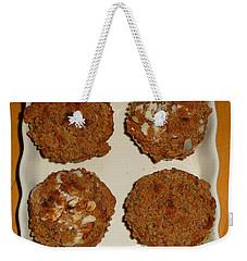 Banana Oat Crunch Muffins Weekender Tote Bag