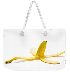 Weekender Tote Bag featuring the photograph Banana Skin by Lee Avison