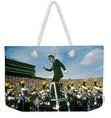 Band Director Weekender Tote Bag by James L. Amos
